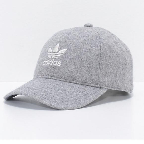 e804d91b adidas Accessories | Hat Grey | Poshmark